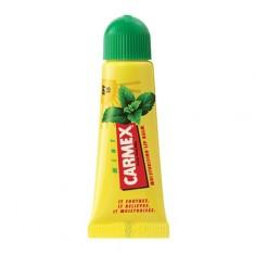 Carmex, Бальзам для губ с ароматом мяты, в тюбике