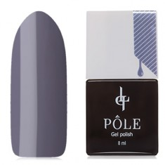 POLE, Гель-лак №105, Элегантный серый