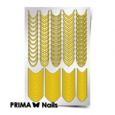 Prima Nails, Трафареты «Френч и лунки. Грация»