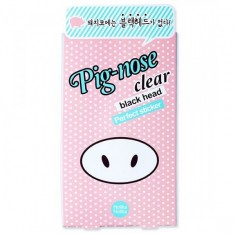 очищающая полоска для носа holika holika pig nose clear black head perfect sticker