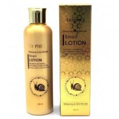 лосьон для лица улиточный deoproce whitening and anti-wrinkle snail lotion