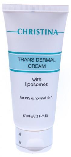 CHRISTINA Крем трансдермальный с липосомами для сухой и нормальной кожи / Trans Dermal Cream 60 мл