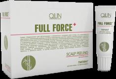 OLLIN PROFESSIONAL Пилинг с экстрактом бамбука для кожи головы / FULL FORCE 10*15 мл