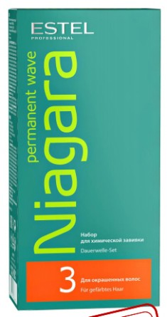 ESTEL PROFESSIONAL Набор для химической завивки для окрашенных волос / NIAGARA
