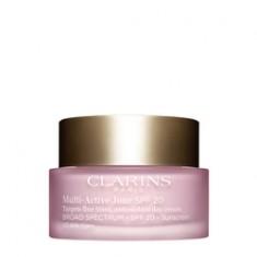 CLARINS Дневной крем для предотвращения первых возрастных изменений с антиоксидантным действием для любого типа кожи MULTI-ACTIVE SPF 20 50 мл