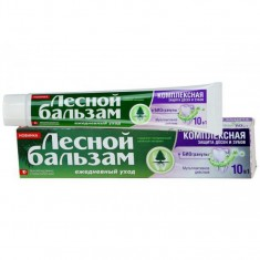 Лесной Бальзам Зубная паста с биогранулами 75мл ЛЕСНОЙ БАЛЬЗАМ