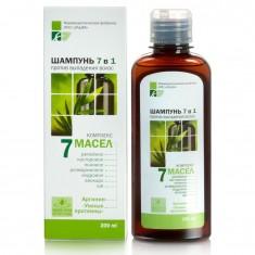 Elfapharm 7 масел шампунь 7в1 против выпадения волос 200 мл
