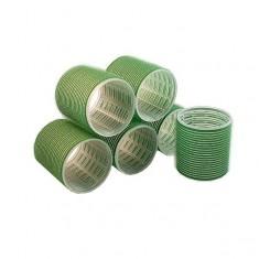 Sibel Бигуди на липучке 61мм зелёные 6шт