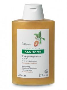 Клоран (Klorane) Шампунь с маслом манго питательный 200 мл