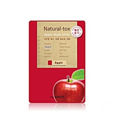 Маска яблочная тканевая, 20 г (The Saem)