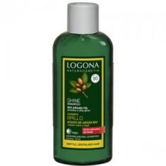 Шампунь с Био-Аргановым маслом для восстановления блеска волос, 75 мл (Logona)