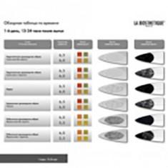 Проверочная таблица, 1 шт. (La Biosthetique)