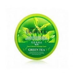Массажный крем с зеленым чаем, 300 г (Deoproce)