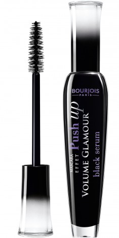 BOURJOIS Тушь для объема ресниц / Effet Push Up Volume Glamour black serum