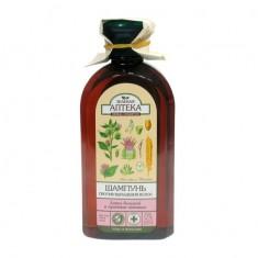 Зеленая аптека шампунь Лопух/протеины пшеницы против выпадения волос 350 мл ЗЕЛЕНАЯ АПТЕКА