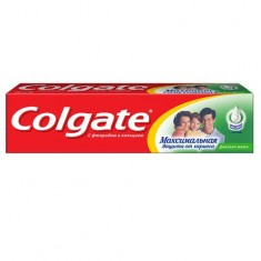 Колгейт Зубная паста Максимальная защита от кариеса Двойная мята 100мл COLGATE