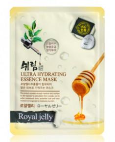 Маска тканевая с экстрактом пчелиного маточного молочка Shelim Ultra Hydrating Essence Mask Royal Jelly 25мл