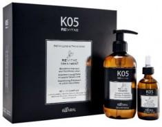 KAARAL Набор для волос (тонизирующий шампунь 250 мл, укрепляющий лосьон 50 мл) / K05