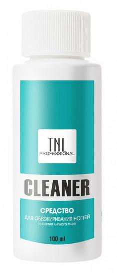 TNL PROFESSIONAL Средство для обезжиривания ногтей и снятия липкого слоя 100 мл