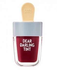 Тинт для губ увлажняющий гелевый ETUDE HOUSE Dear Darling Water Gel Tint #15 №306 Shark Red 4,5г