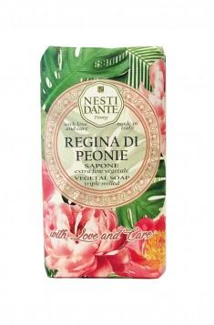 NESTI DANTE Мыло Королевский пион / Regina di Peonie 250 г