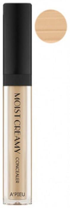 Консилер кремовый увлажняющий A'PIEU Moist Creamy Concealer No.5 Sand