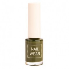 Лак для ногтей The Saem Nail Wear 88.Quiet green 7мл