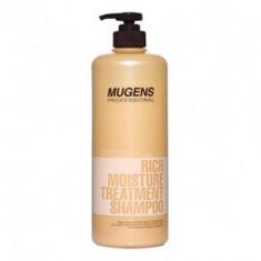 Шампунь для волос Welcos Mugens Rich Moisture Treatment Shampoo 1000g