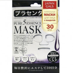 Маска с плацентой Japan Gals Pure5 Essential 30 шт