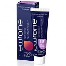 тонирующая маска для волос estel newtone 9/65 блондин фиолетово-красный 60 мл Estel Professional