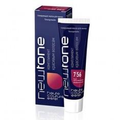 тонирующая маска для волос estel newtone 7/56 русый красно-фиолетовый 60 мл. Estel Professional