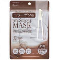 Маска с коллагеном Japan Gals Pure5 Essential 30шт