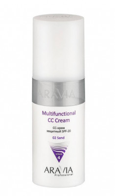 CC-крем защитный SPF20 Aravia professional Multifunctional CC Cream send 02 150 мл