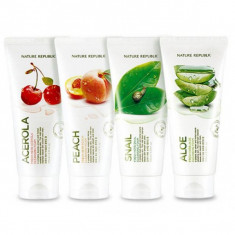пенка для умывания nature republic fresh herb cleansing foam