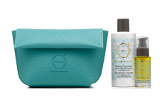 BAREX Набор подарочный в косметичке (шампунь 250 мл, масло-уход 30 мл) Oro Del Marocco
