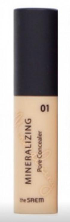 Консилер для маскировки пор THE SAEM Mineralizing Pore Concealer 01 Clear Beige 4ml