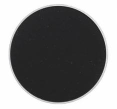 Тени прессованные Make-Up Atelier Paris T025 Ø 26 чёрный запаска 2 гр