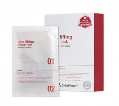 Маска для лица с лифтинг эффектом Mijin Skin Planet ULTRA Lifting Chitosan mask 26гр