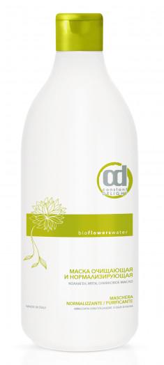 CONSTANT DELIGHT Маска очищающая и нормализирующая для волос / BIO FLOWER 1000 мл