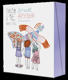 ESTEL PROFESSIONAL Набор для девочек (шампунь, спрей для волос, бальзам для губ) / LITTLE ME