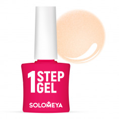 SOLOMEYA Гель-лак однофазный для ногтей, 39 шампань / One Step Gel Champagne 5 мл