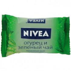 Нивея Мыло-уход Огурец и зелёный чай 90г NIVEA
