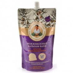 Рецепты Бабушки Агафьи Бальзам-баня Можжевеловый против выпадения для редких и ослабленных волос 500мл