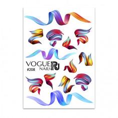 Vogue Nails, Слайдер-дизайн №208