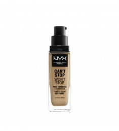 NYX PROFESSIONAL MAKEUP Тональная основа Can't Stop Won't Stop Full Coverage Foundation - Beige 11