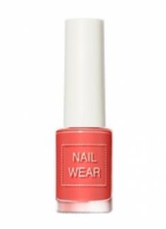 Лак для ногтей THE SAEM Nail wear 99. Grapefruit Coral 7мл
