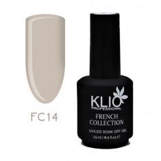 Klio Professional, Гель-лак French Collection №14