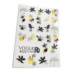 Vogue Nails, Слайдер-дизайн №223