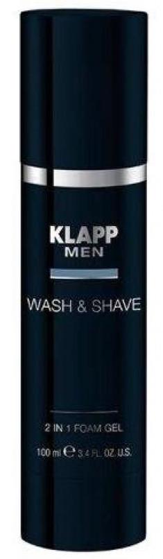 KLAPP Гель для бритья и умывания / MEN 100 мл