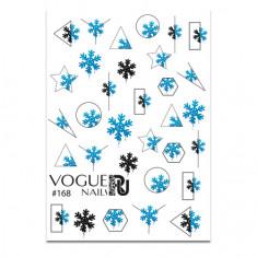 Vogue Nails, Слайдер-дизайн №168